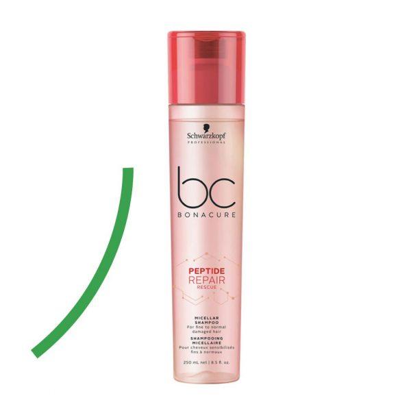 Schwarzkopf Professional // BC Peptide Acil Kurtarma Şampuanı 250ml