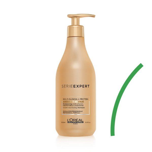 Loréal Professionnel // Serie Expert Absolut Repair Gold Quinoa Protein Şampuan 500ml