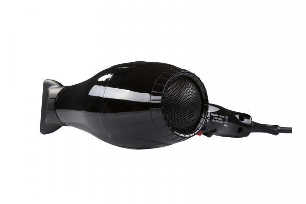 Ventoso // V5 Silex5000 Profesyonel Kuaför Fön Makinesi - Siyah, Flexy Katlanabilir Difüzörlü
