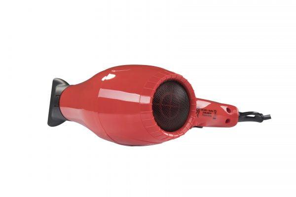Ventoso // V5 Silex5000 Profesyonel Kuaför Fön Makinesi - Kırmızı, Flexy Katlanabilir Difüzörlü