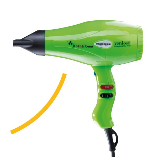 Ventoso // V5 Silex5000 Profesyonel Kuaför Fön Makinesi – Çimen Yeşili