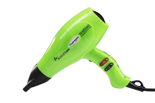 Ventoso // V5 Silex5000 Profesyonel Kuaför Fön Makinesi - Çimen Yeşili, Flexy Difüzörlü