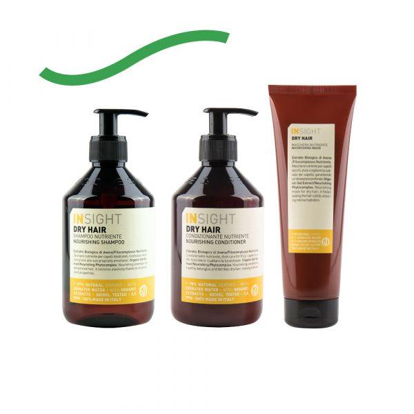 Insight // Dry Hair Nourishing Besleyici Bakım Seti