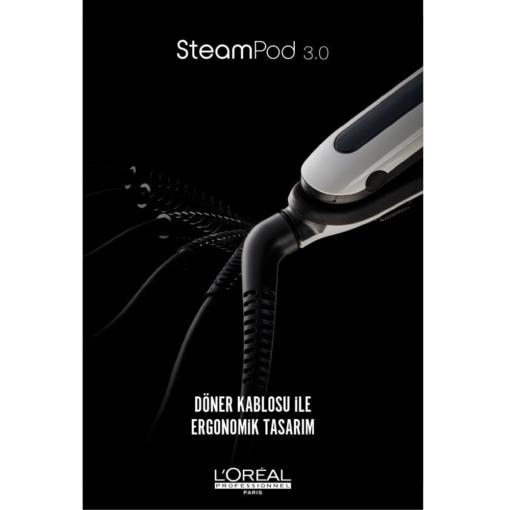 Loreal Steampod 3.0 Buharlı Saç Düzleştirici ve Şekillendiricisi