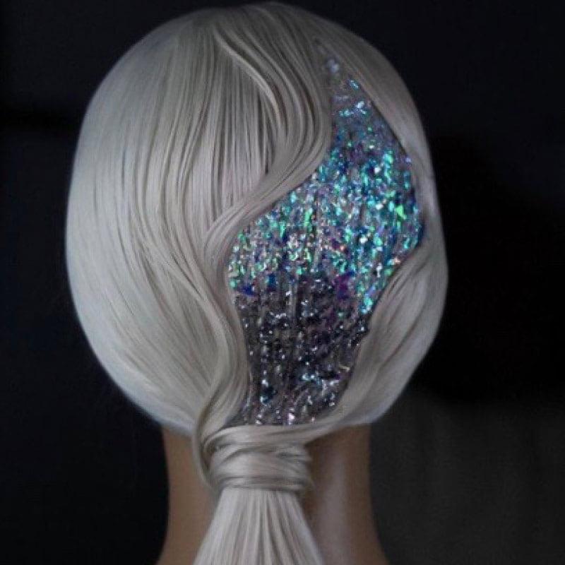 2021 Saç Modelleri: Parıltılı Saç Modeli