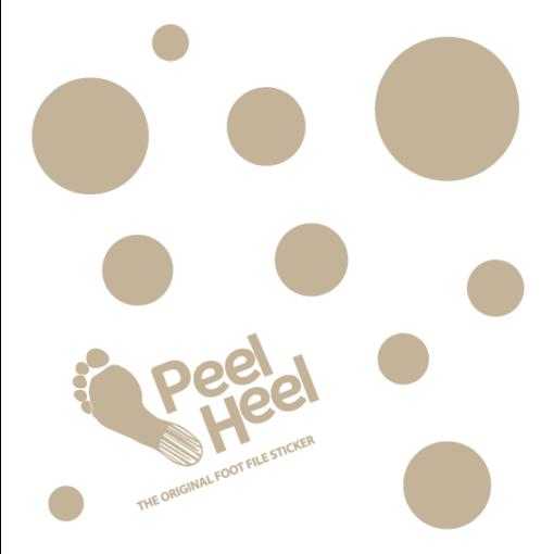 PeelHeel Bej Noktalı Topuk Törpüsü 19×19 cm